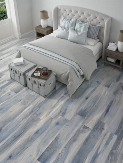 On Trend Gray Laminate Planks
